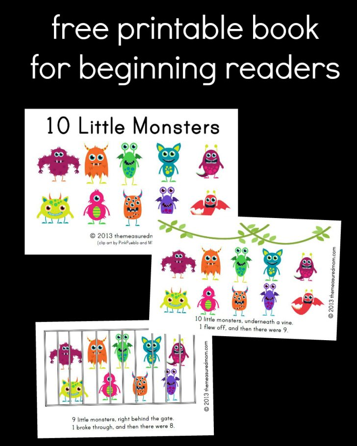 Free Printable Books For Beginning Readers