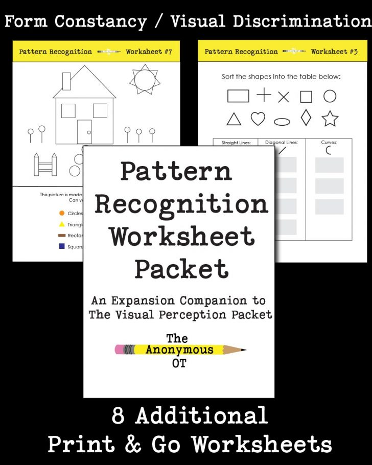 Free Printable Form Constancy Worksheets