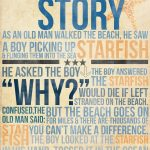 The Starfish Story (Boy) … | Things I Love | Pinte… – Starfish Story Printable Free
