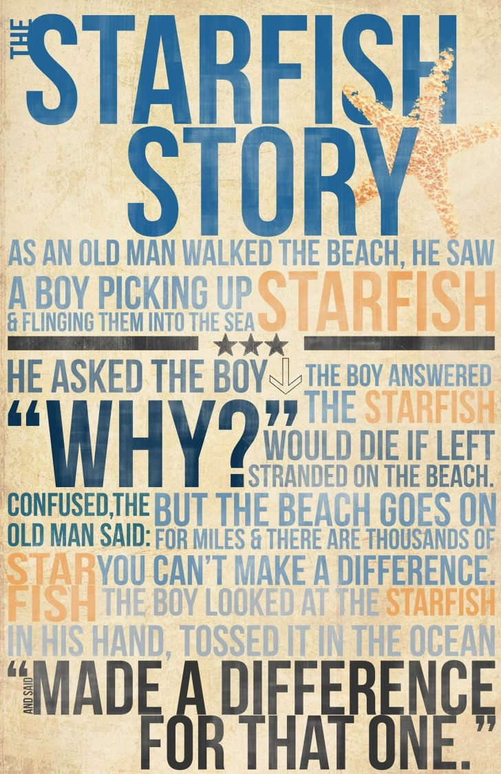 Starfish Story Printable Free