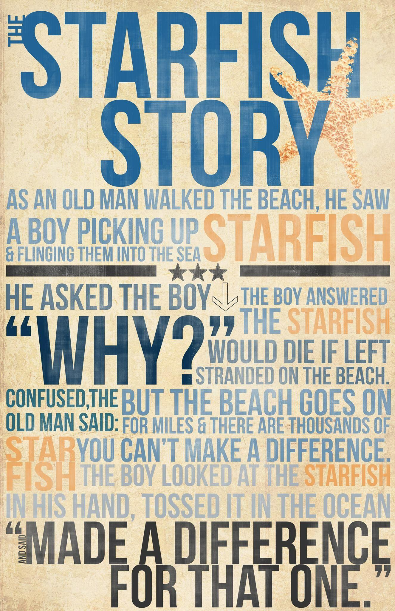 The Starfish Story (Boy) … | Things I Love | Pinte… - Starfish Story Printable Free