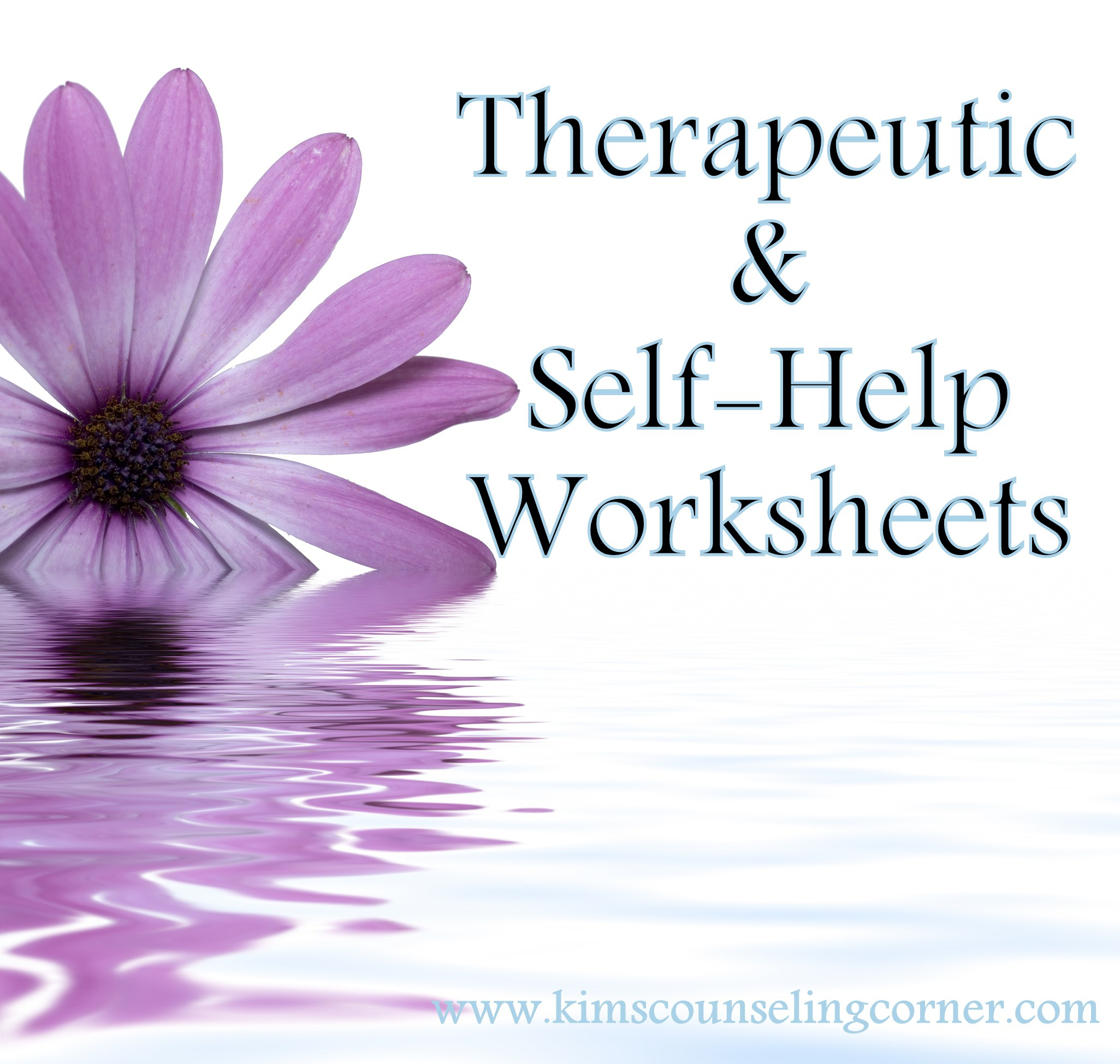Therapy And Self Help Worksheets - Free Printable Therapy Worksheets