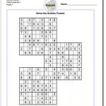 These Printable Sudoku Puzzles Range From Easy To Hard, Including   Download Printable Sudoku Puzzles Free