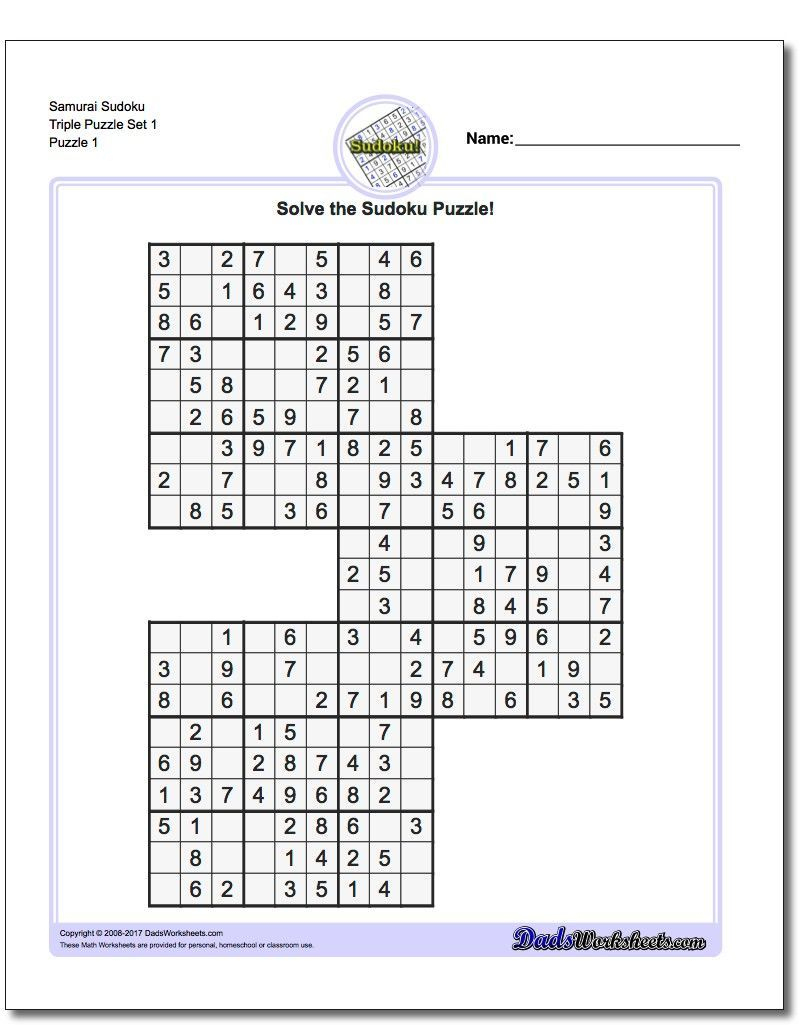 These Printable Sudoku Puzzles Range From Easy To Hard, Including - Download Printable Sudoku Puzzles Free