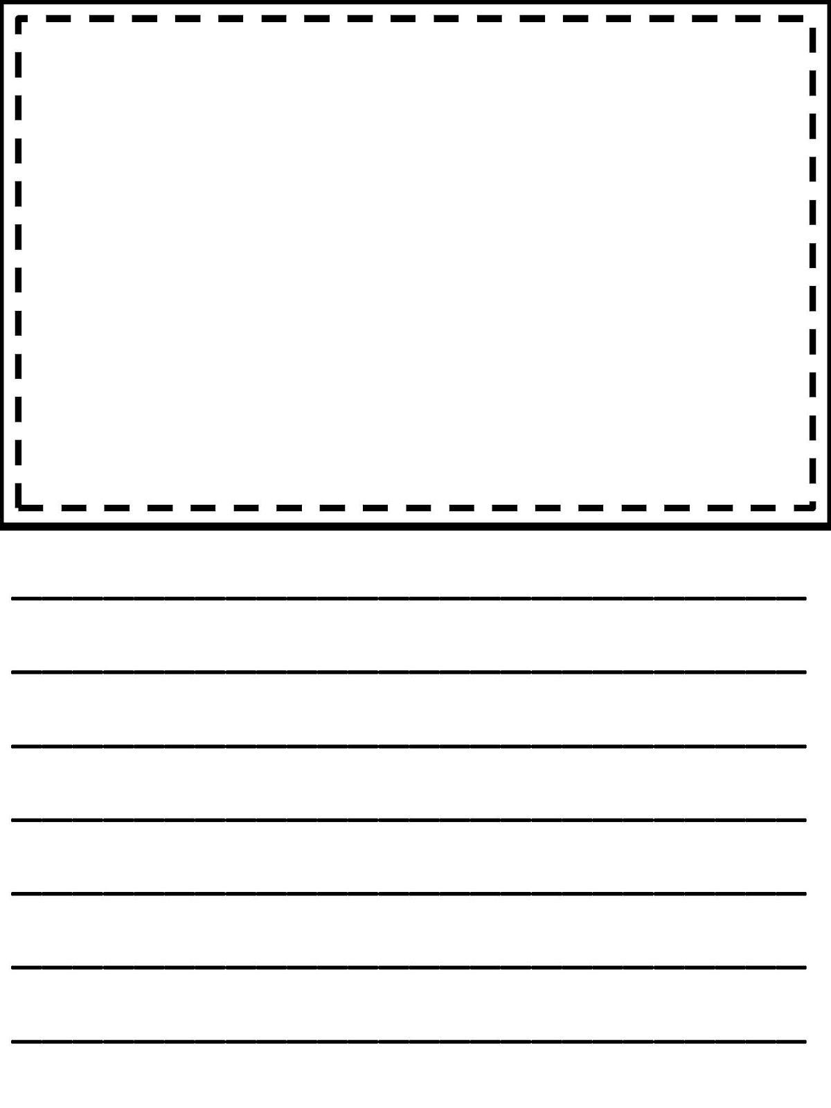 Third Grade Writing Paper | Homeshealth Handwriting Template - Free Printable Writing Paper