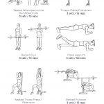 Thursday Arms Abs Workout: My Custom Printable Workout   Free Printable Gym Workout Routines