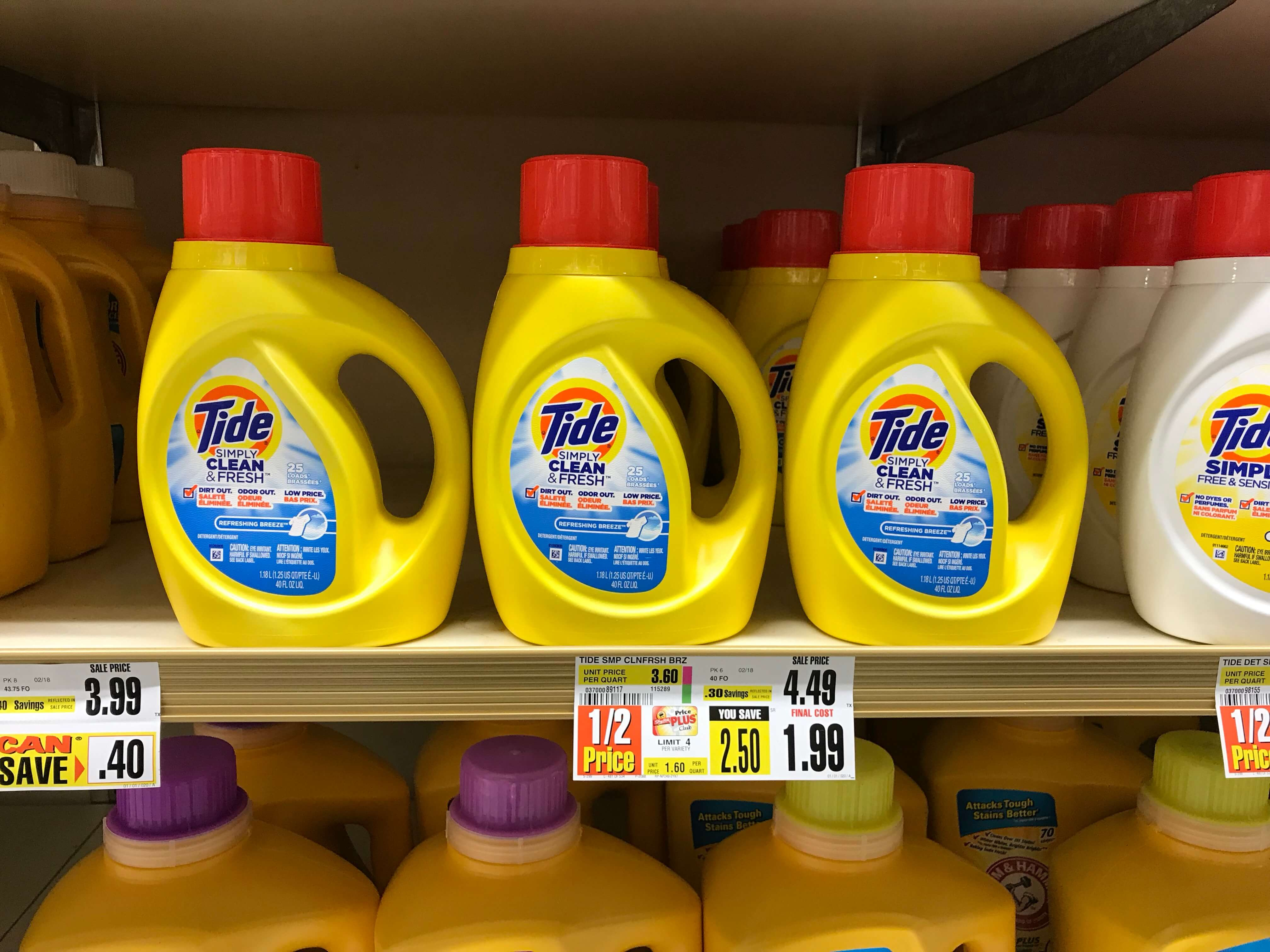 Tide Simply Laundry Detergent Just $0.99 At Shoprite! {4/22}Living - Tide Coupons Free Printable