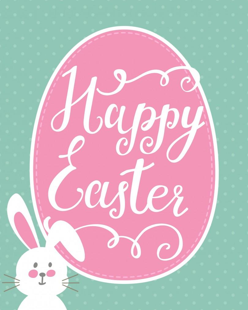 Tips: Charming Easter Printables Ideas — Neptunerestaurant - Free Printable Easter Cards For Grandchildren