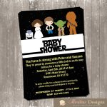 Tips Easy To Create Star Wars Baby Shower Invites Free Templates   Free Printable Star Wars Baby Shower Invites