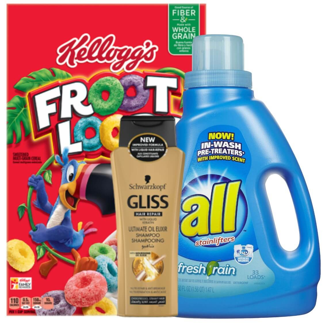 Today's Top New Coupons - Save On Kellogg's, All Laundry Detergent - Free All Detergent Printable Coupons