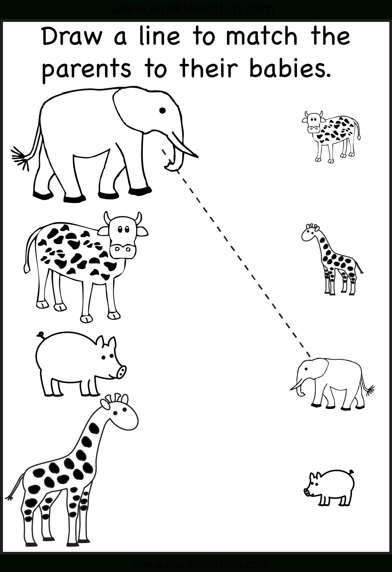 Tons And Tons Of Free Printables! Tracing, Matching, Etc - Free Printable Worksheets For 3 Year Olds