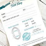 Tooth Fairy Free Printable Certificate   Free Printable Tooth Fairy Certificate