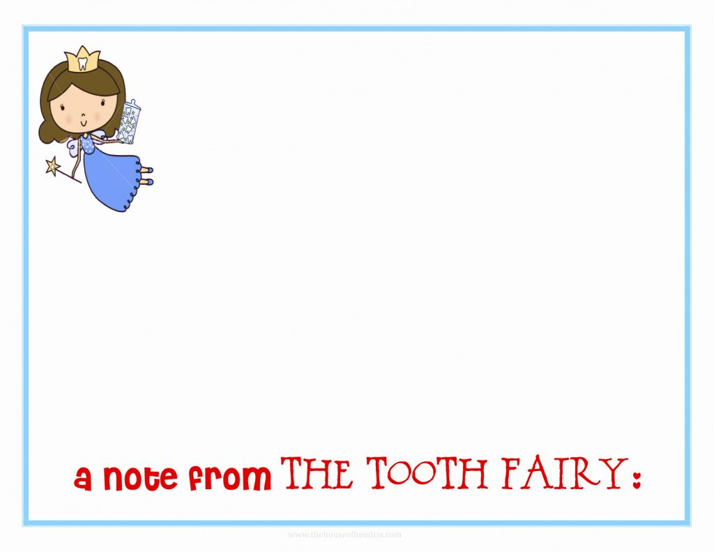Tooth Fairy Letterhead Template Free Inspirational Free Coloring - Tooth Fairy Stationery Free Printable