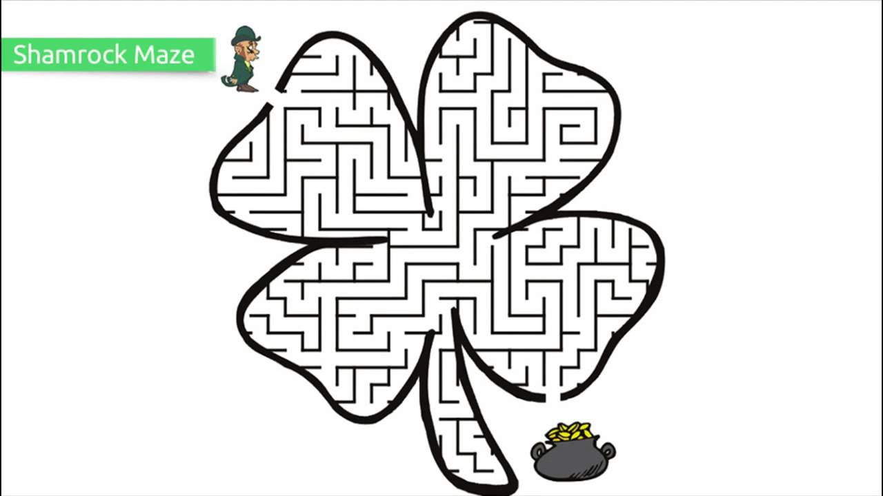 Top 10 Free Printable St. Patrick's Day Coloring Pages - Youtube - Free Printable Saint Patrick Coloring Pages