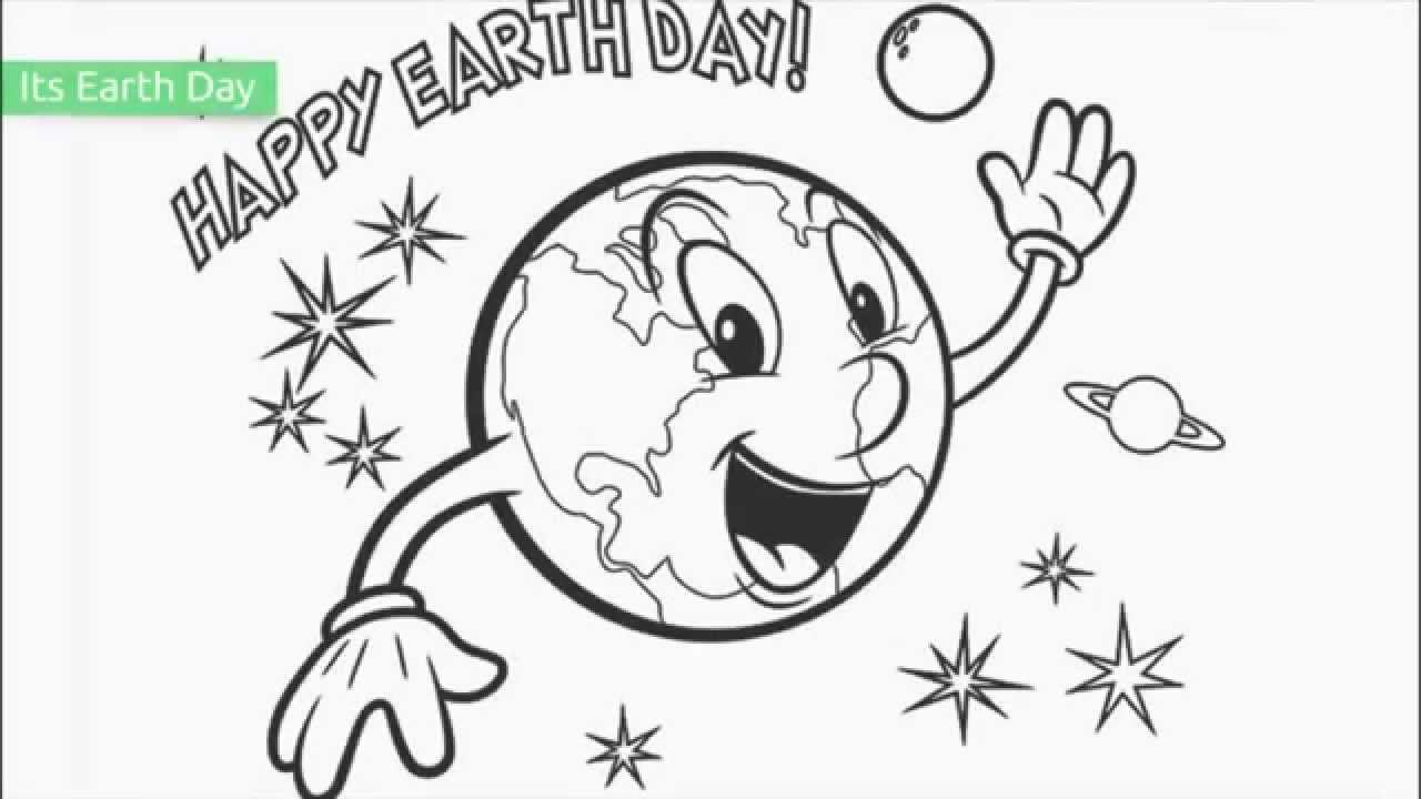 Top 20 Free Printable Earth Day Coloring Pages - Youtube - Free Printable Earth Pictures