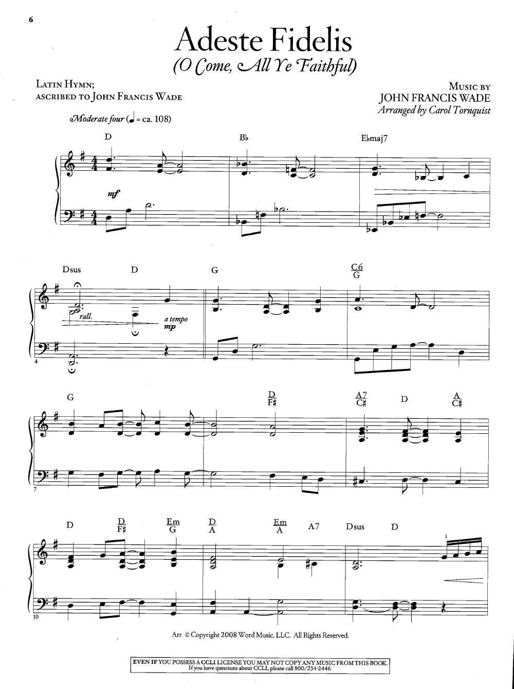 Top 25 Christmas Songs For Solo Piano ( Pian | J.w. Pepper Sheet Music - Christmas Songs Piano Sheet Music Free Printable