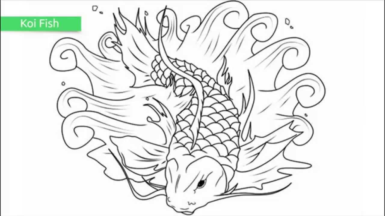 Top 25 Free Printable Fish Coloring Pages - Youtube - Free Printable Fish Coloring Pages