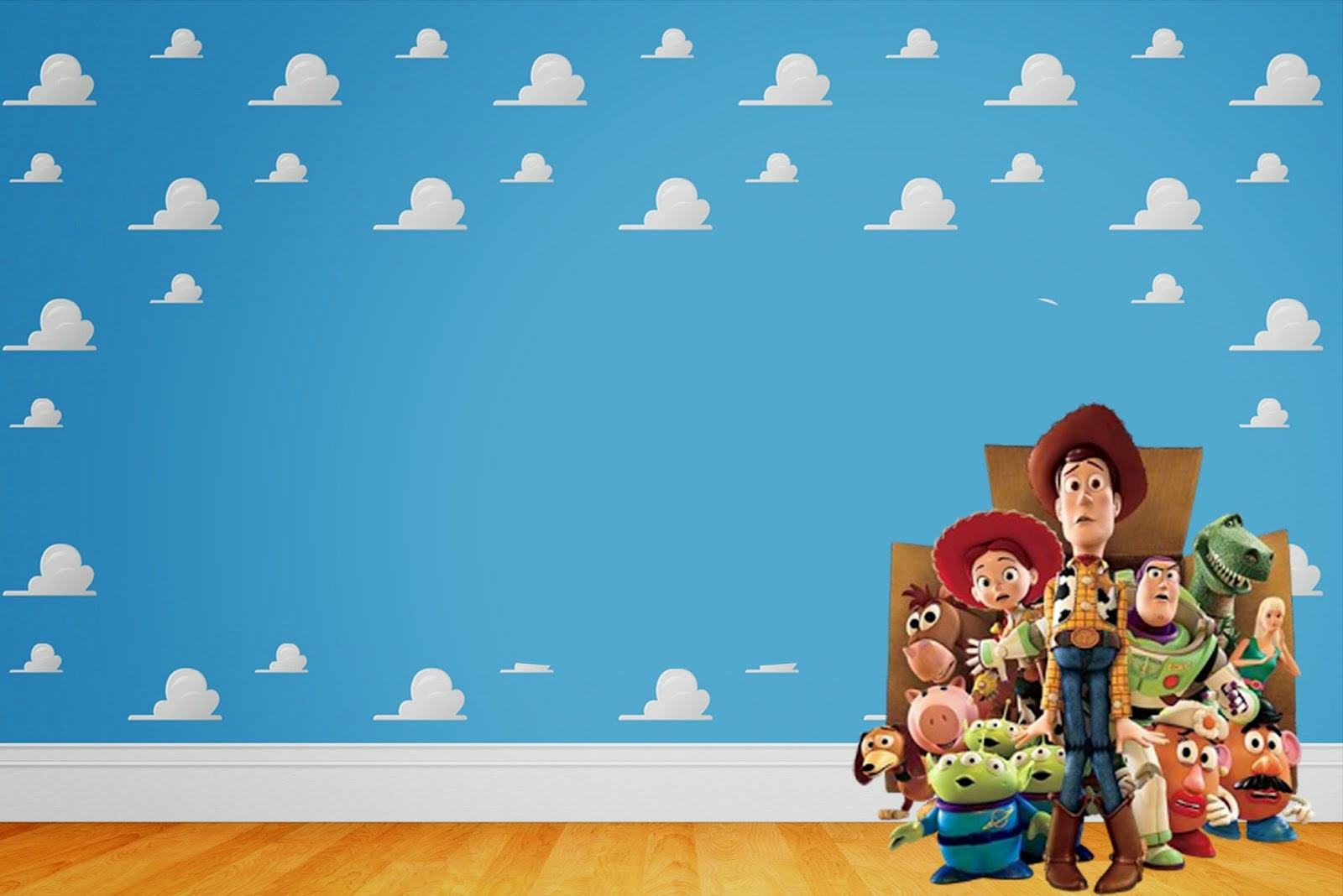 Toy Story 3: Free Printable Invitations.   Oh My Fiesta! In English - Toy Story Birthday Card Printable Free