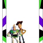 Toy Story: Free Printable Frames, Invitations Or Cards. | Dylans 2Nd – Free Printable Toy Story 3 Birthday Invitations