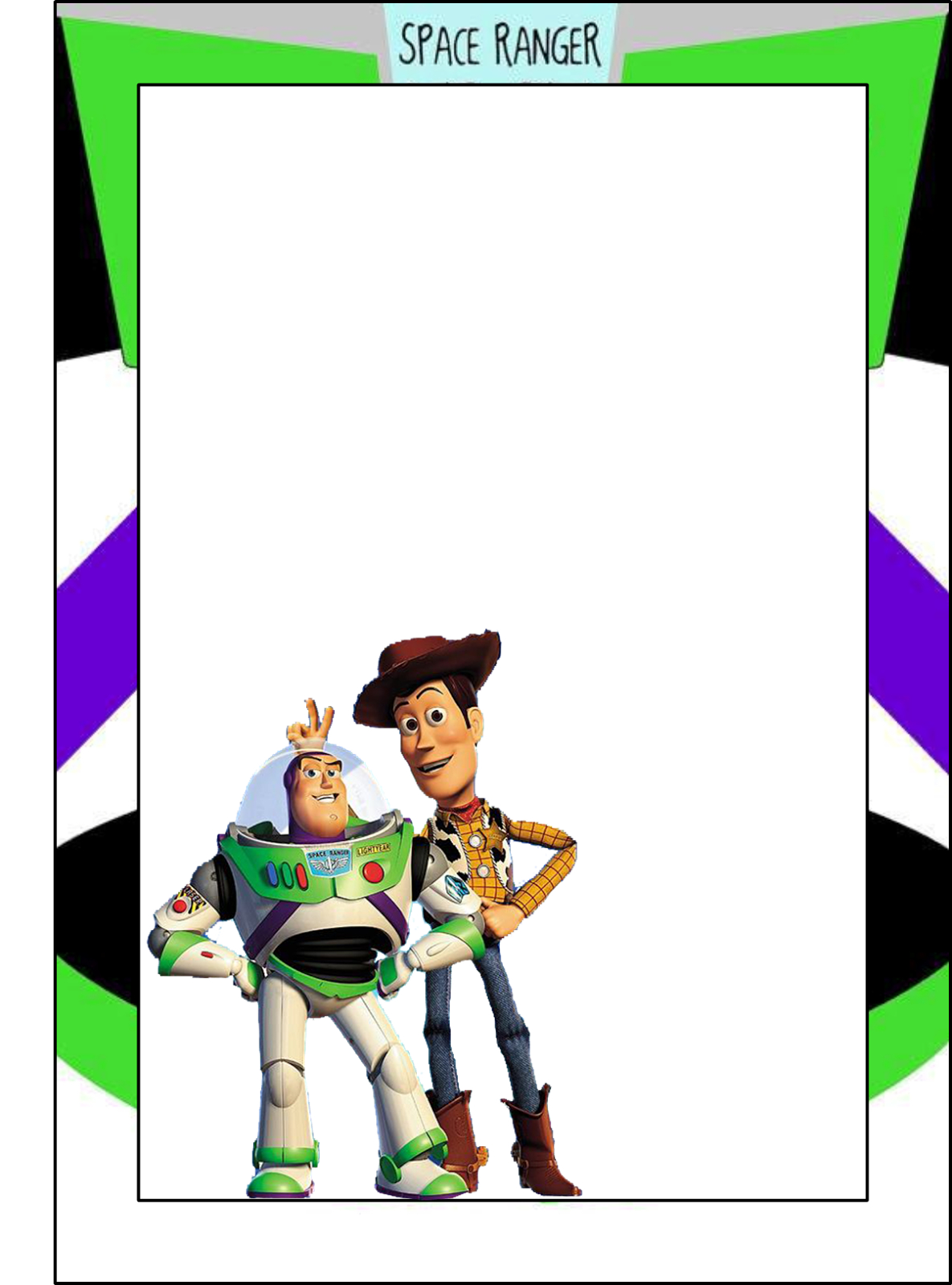 Toy Story: Free Printable Frames, Invitations Or Cards. | Dylans 2Nd - Toy Story Birthday Card Printable Free
