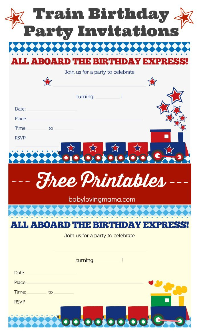 Train Birthday Party Invitations: Free Printables   Celebrate: Kid - Free Printable Train Pictures