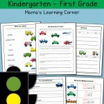Transportation Worksheets For Kindergarten And First Grade   Mamas   Free Printable Transportation Worksheets For Kids