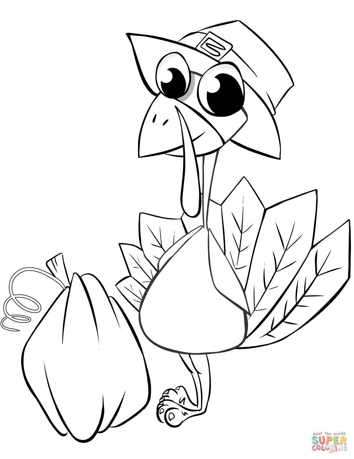 Turkey Coloring Pages   Free Coloring Pages - Free Printable Pictures Of Turkeys To Color
