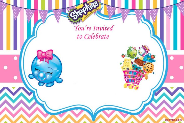 Shopkins Banner Printable Free