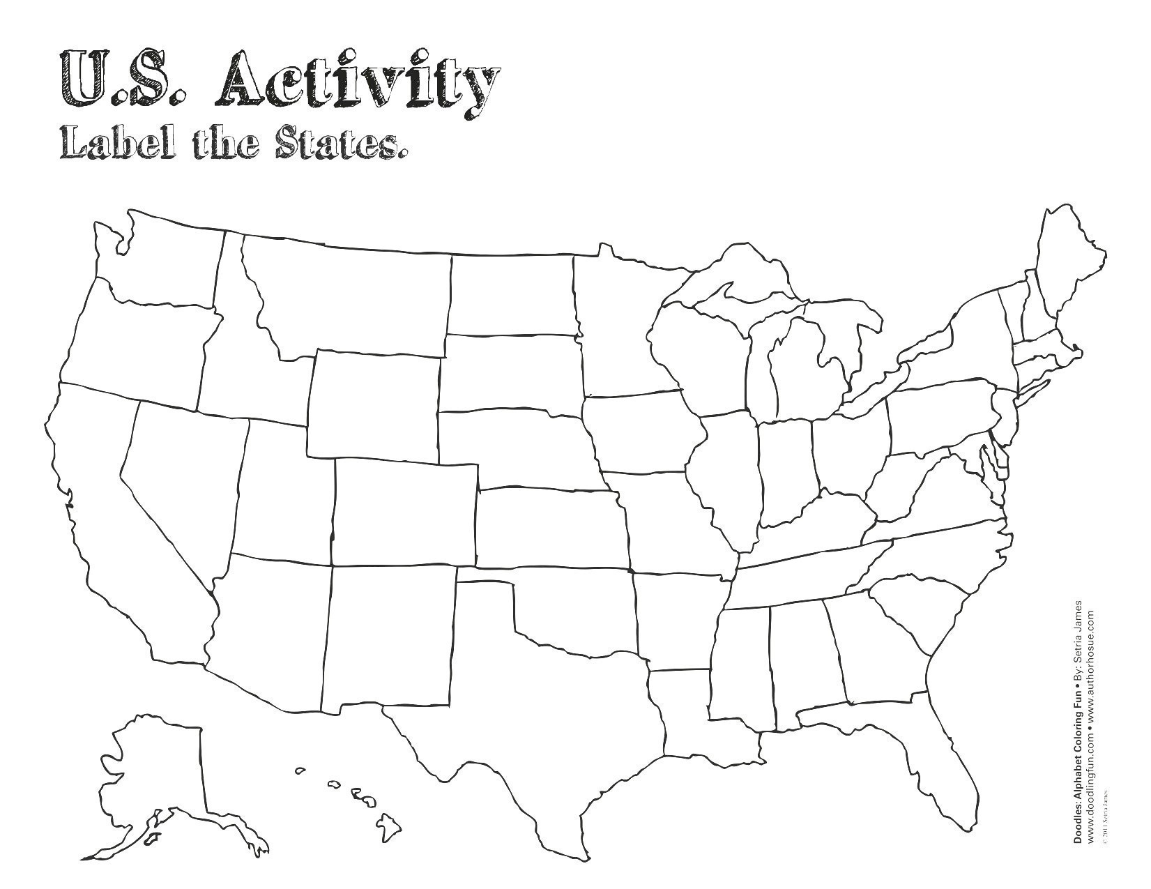 Us Capitals Map Quiz Printable New United States Map Label Worksheet - Free Printable States And Capitals Worksheets