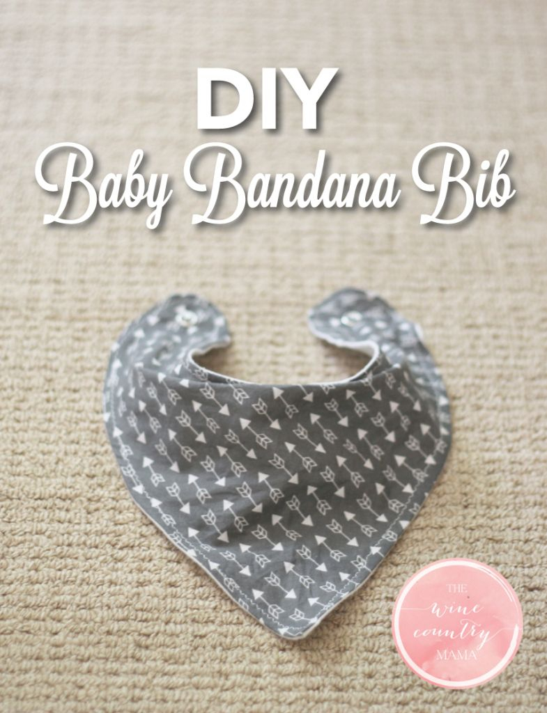 Use This Free Pattern And Step-By-Step Guide To Make An Adorable - Free Printable Baby Bandana Bib Pattern