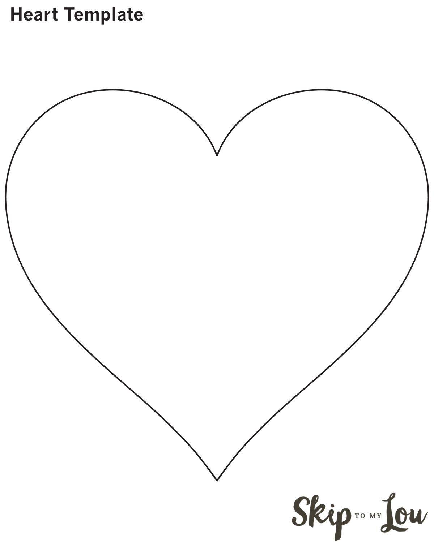 Valentine Heart Attack Idea With Free Printable Heart Template - Free Printable Hearts