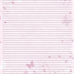Valentine Letter Writing Stationery | Printable Paper Free   Free Printable Writing Paper For Adults