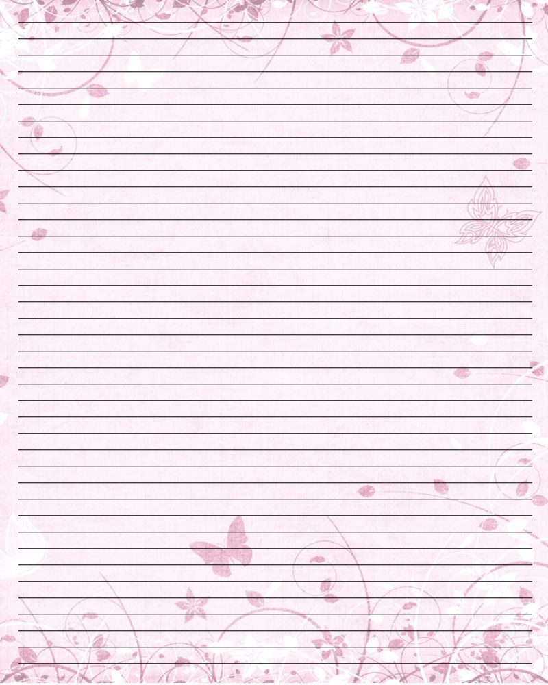 Valentine Letter Writing Stationery | Printable Paper Free - Free Printable Writing Paper For Adults