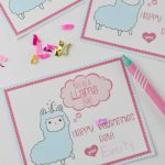 Valentines Day Card For Kids With Free Printable   Houston Mommy And   Free Printable Valentines Day Cards For Mom And Dad