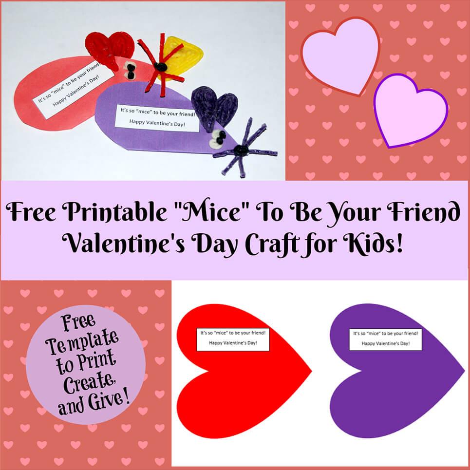 Valentine's Day Crafts For Kids | Wikki Stix - Free Printable Valentine's Day Stencils