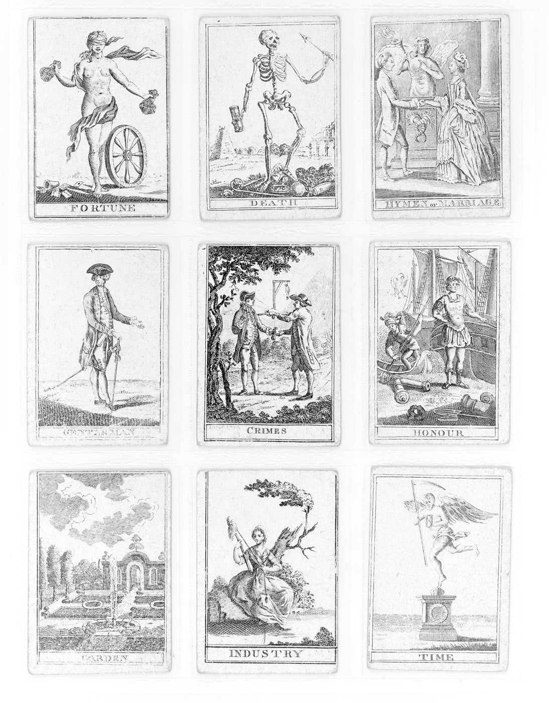 Vintage Fortune Teller Cards, Shrinky Dink Earrings. | Genesis Board - Free Printable Tarot Cards