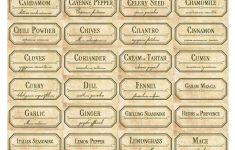 Vintage Spice Jar Labels. Free Printable Label Templates. | Spice – Free Printable Old Fashioned Labels