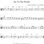 Viola Sheet Music For Beginners Christmas Music | Free Easy   Viola Sheet Music Free Printable