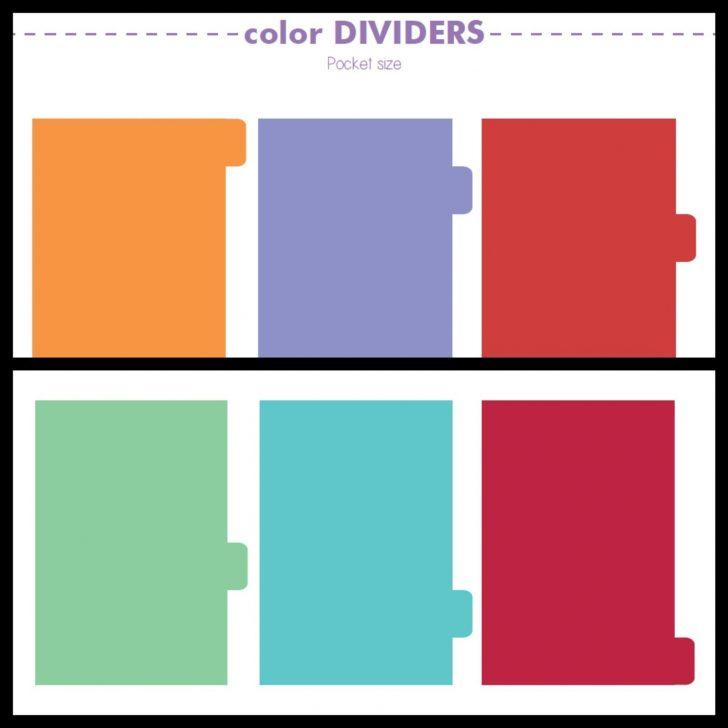 Free Printable Dividers