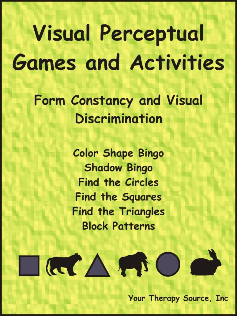 Visual Perceptual Games And Activities – Form Constancy And Visual - Free Printable Form Constancy Worksheets