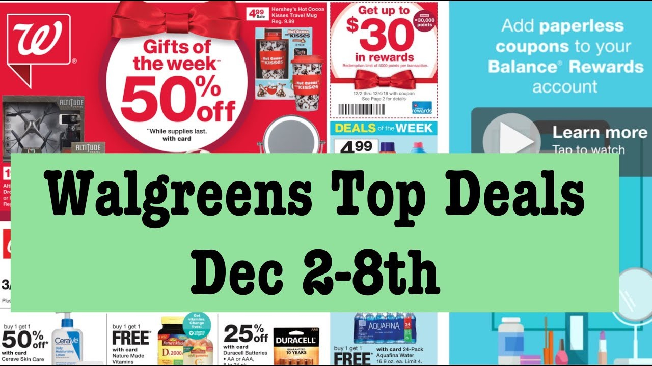 Walgreen's Couponing Top Deals For Dec 2Nd-8Th! Free Crest - Free Printable Crest Coupons