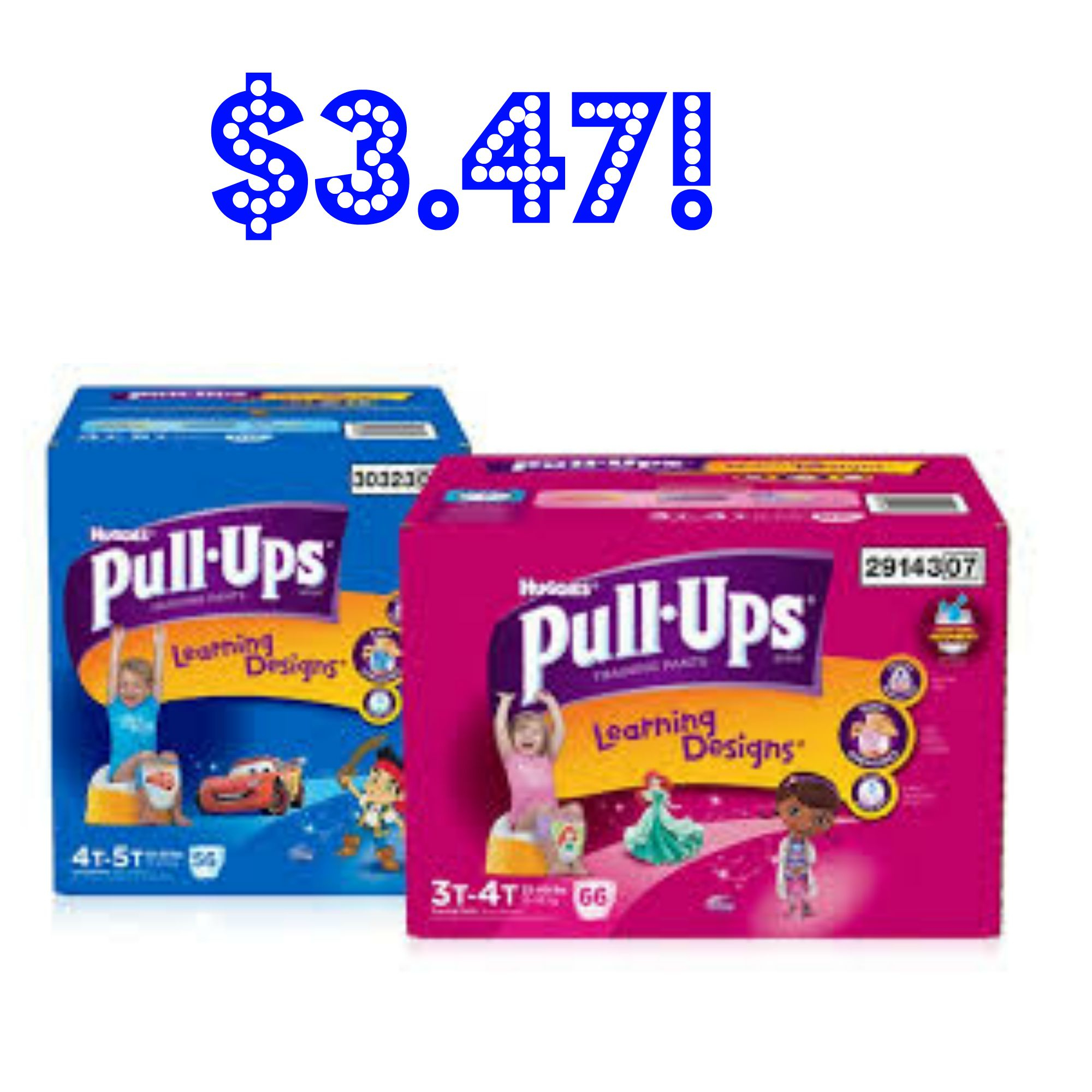 Walmart: Huggies Pull-Ups Training Pants Jumbo Pack Just $3.47! - Free Printable Coupons For Huggies Pull Ups