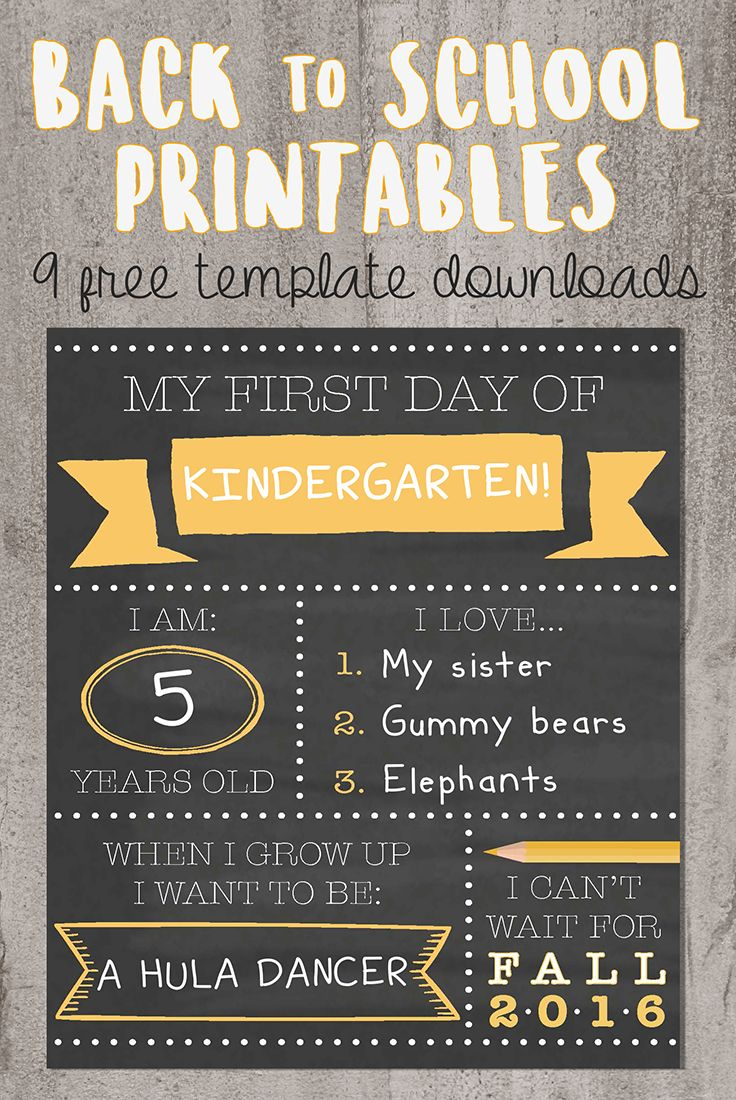 photograph about Free Printable Templates for 1st Day of School Signs for Boys referred to as Free of charge Printable Very first Working day Of University Symptoms No cost Printable