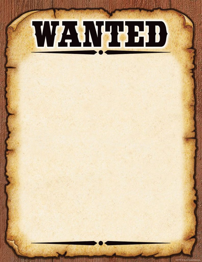 Wanted Poster Invitation Template Free - Mctoom - Free Printable Wanted Poster Invitations