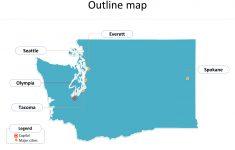 Free Printable Map Of Washington State
