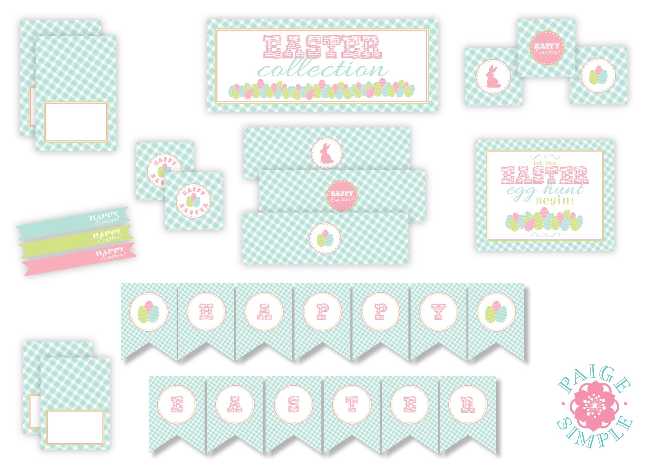 We Heart Parties: Free Printables Pastel Easter Printables - Free Printable Easter Images
