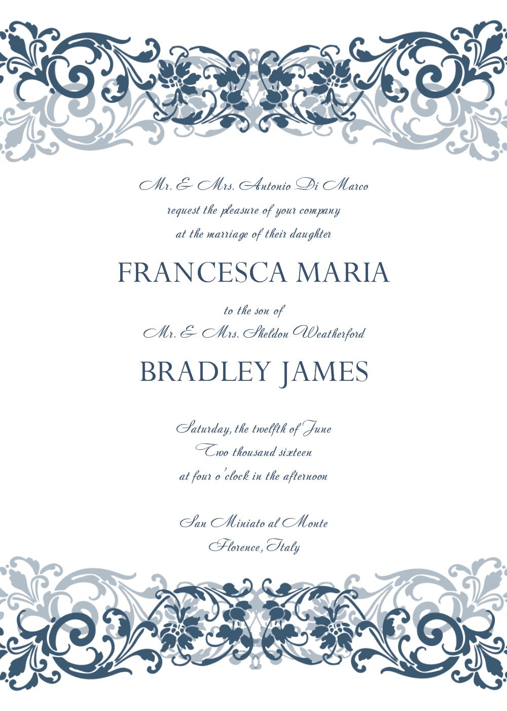 Wedding Invitation Templates | Invitation | Pinterest | Free Wedding - Free Printable Wedding Invitations