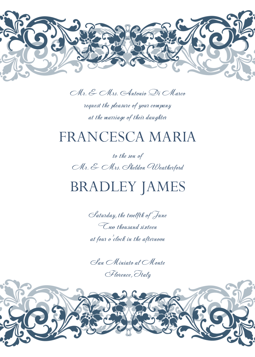 Wedding Invitation Templates | Invitation | Pinterest | Free Wedding - Free Printable Wedding Scrolls
