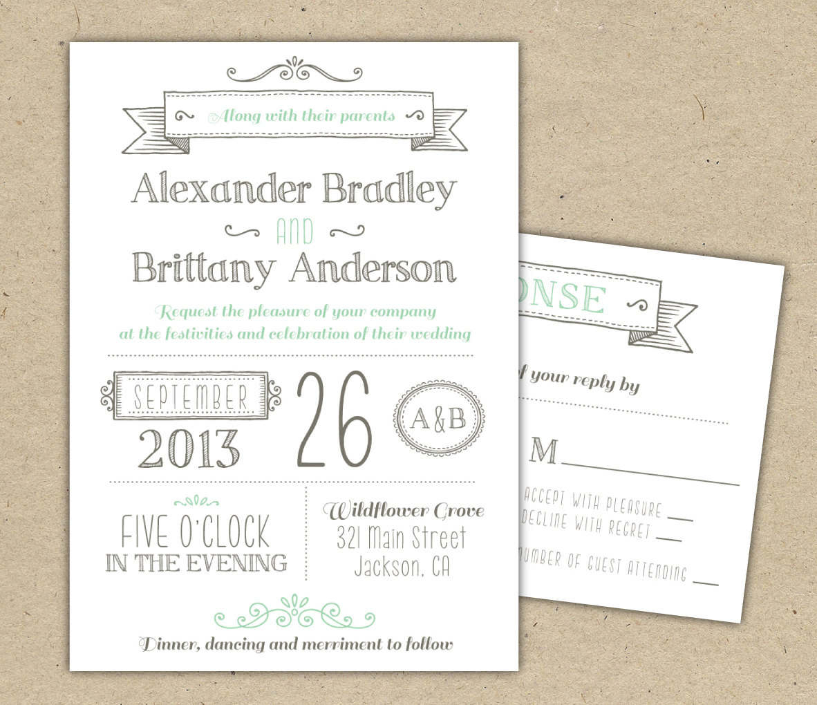 Wedding Invites Templates Free Printable Wedding Invitations - Free Printable Wedding Invitation Templates