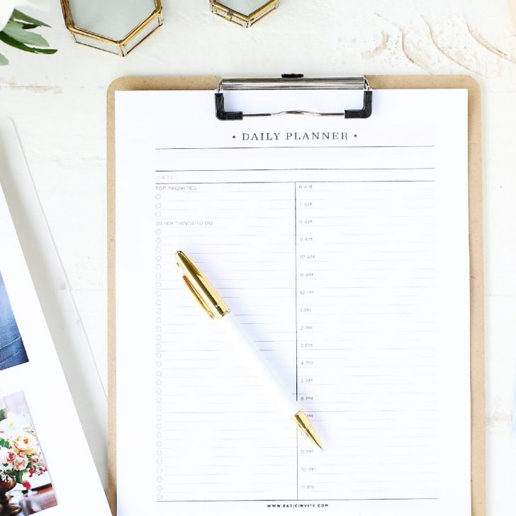 Free Printable Wedding Planner Workbook